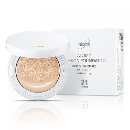 Крем-пудра Кушон N21 Atomy Cushion Foundation SPF50 PA+++