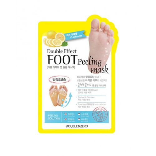 Пілінг для ніг DOUBLE & ZERO Foot Peeling Mask